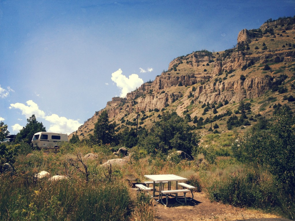 Sinks Canyon Campsite