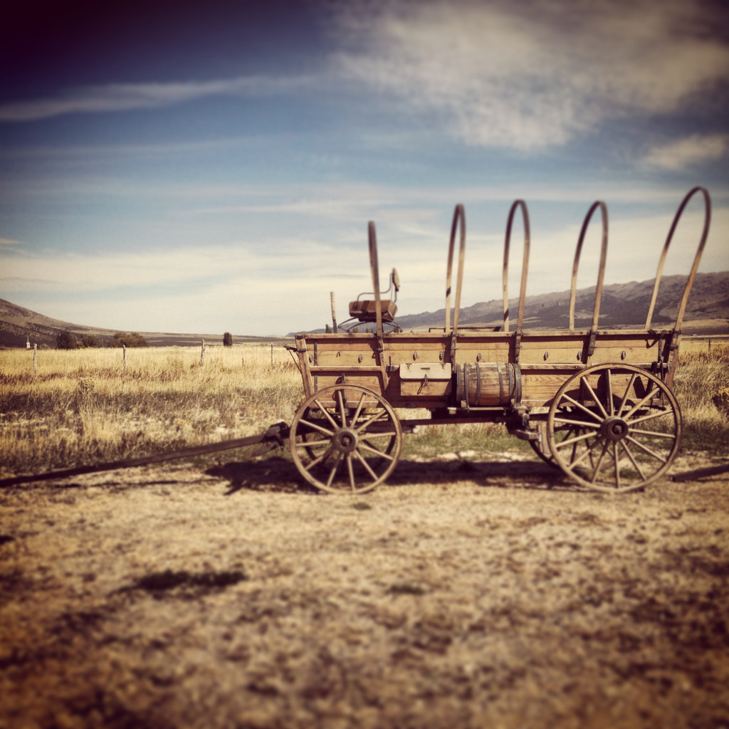 Covered Wagon Replica