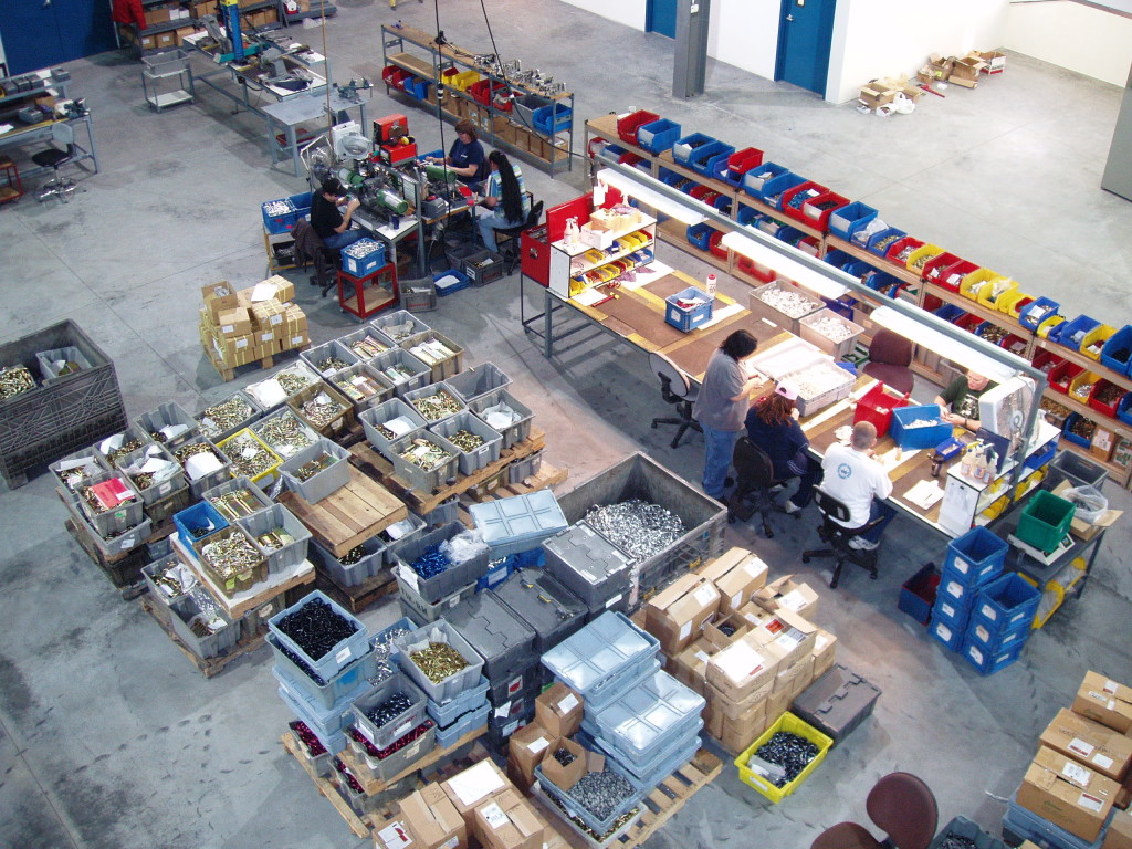 Omega Pacific Manufacturing Facility