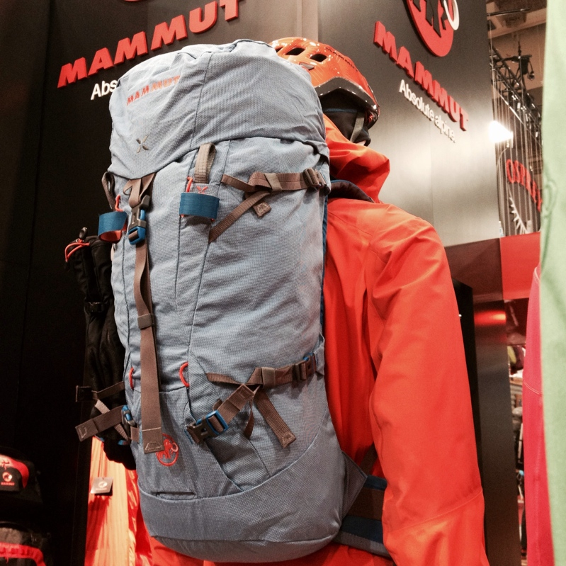 Mammut 32L Trea or 35L Trion alpine ski mountaineering pack