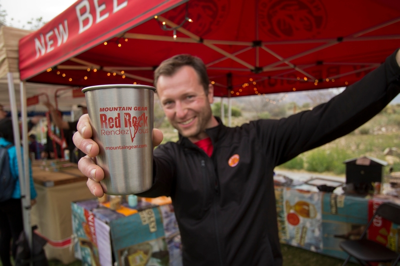 New Belgium Beer Red Rock Rendezvous