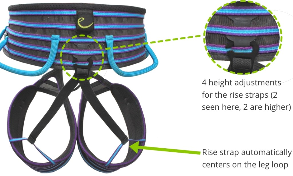 Edelrid Solaris Rise Adjustment