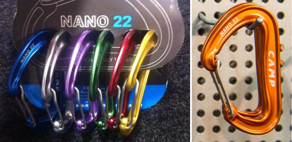 CAMP Nano 22 Carabiners