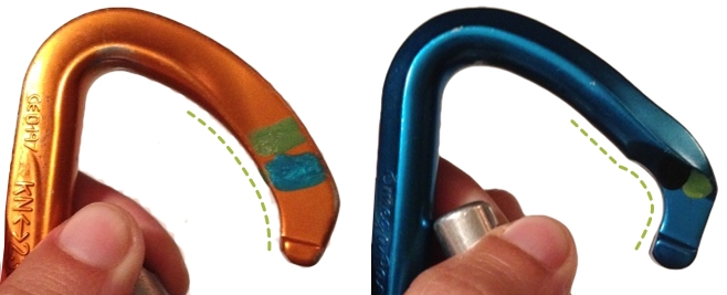 Carabiner Nose Angle