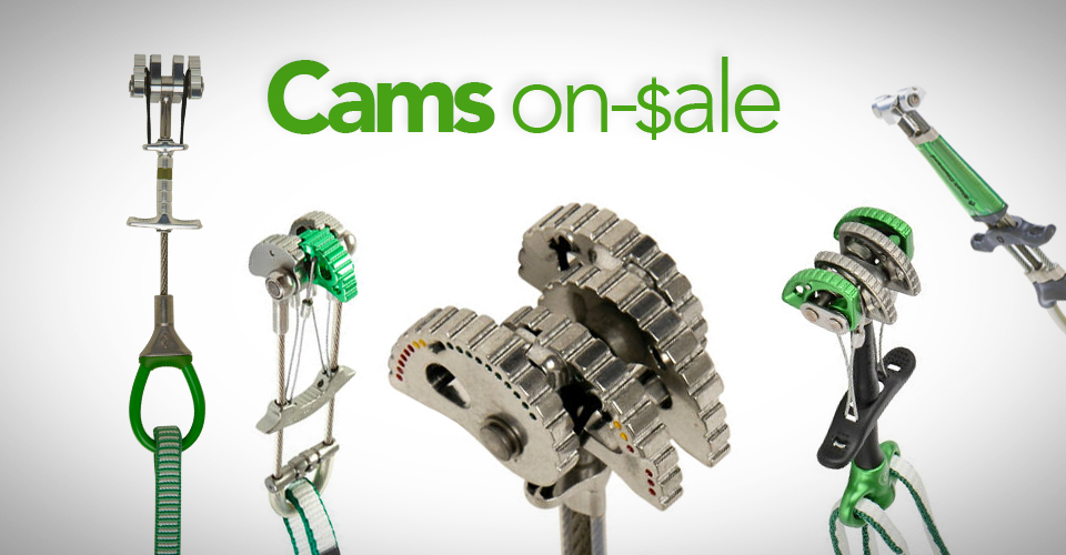 Best Deals on Climbing Cams