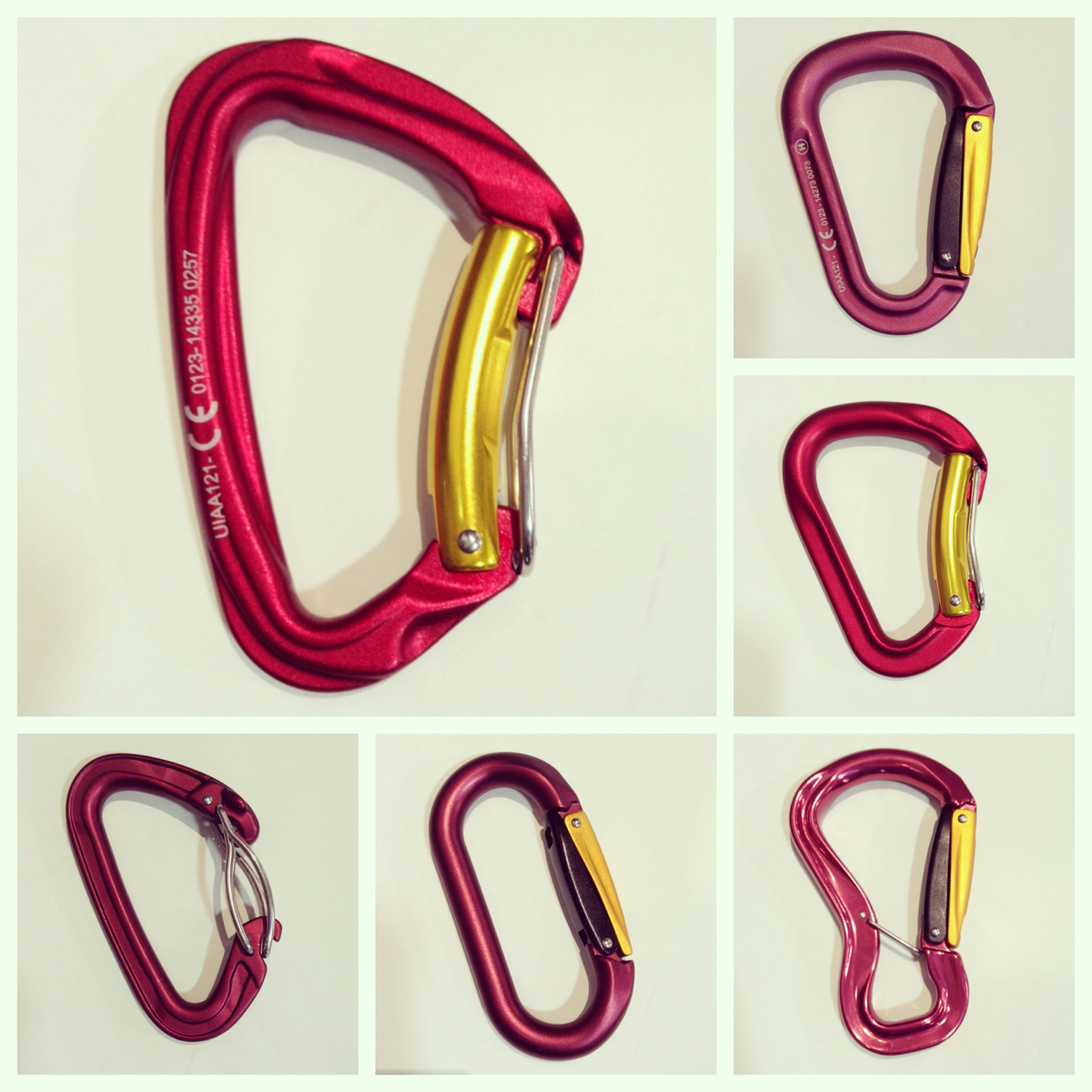 Grivel Twin Gate Carabiners