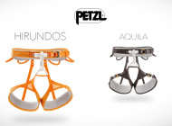 Petzl Hirundos and Aquila, 2015 Harnesses