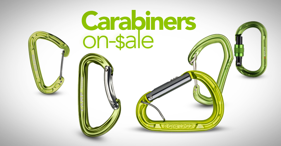 Best deals and sales on carabiners