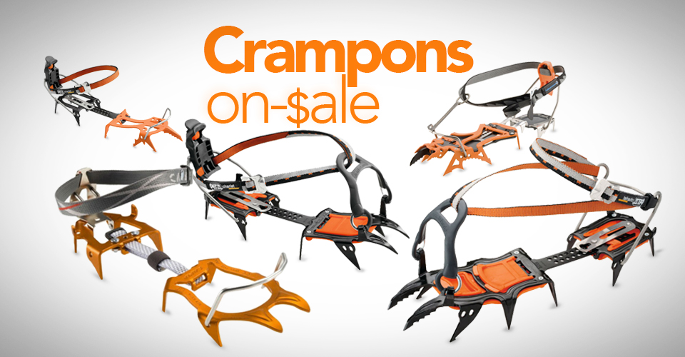 Crampons On Sale RIght Now