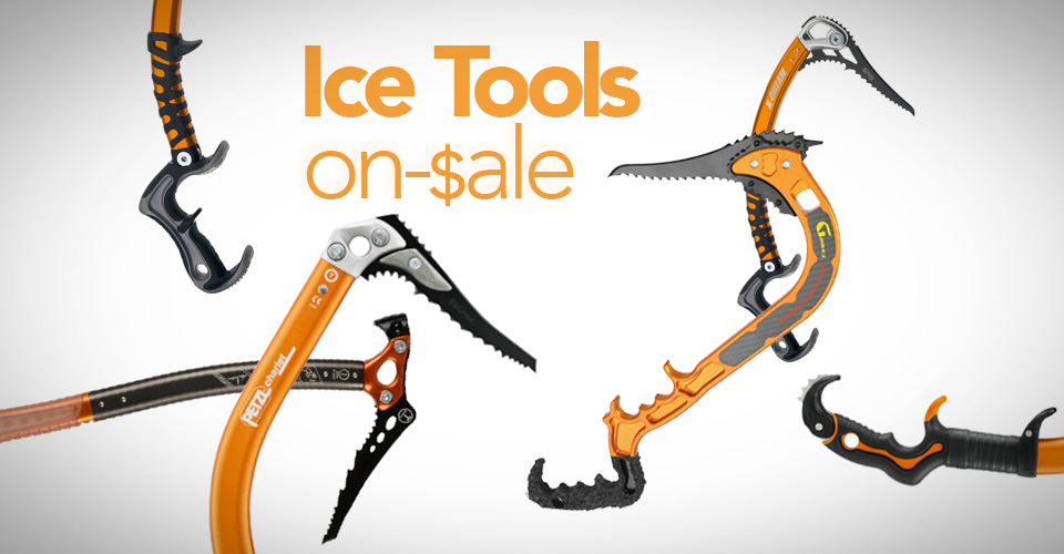 All of the ice tools currently on sale