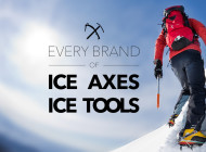 The 23 brands that sell Ice Axes and/or Ice Tools