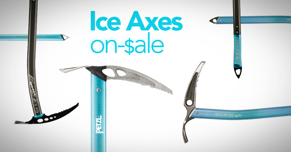 Ice Axes currently on sale