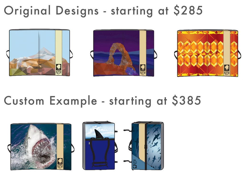 Kush Pad Rewards Designs Starting Price