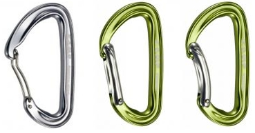 Non-Locking Carabiners