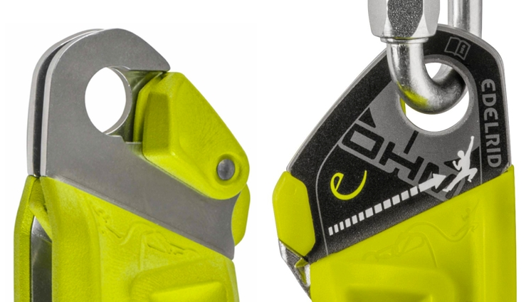 Edelrid Ohm Safety Labels