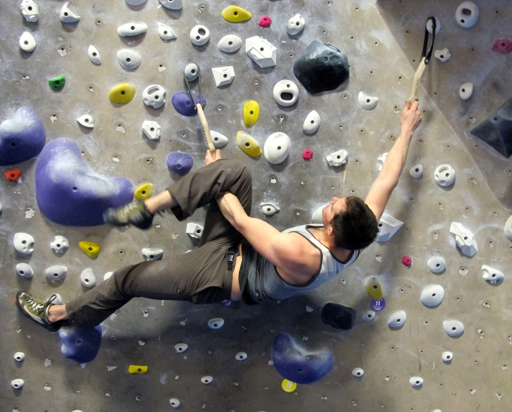 Figure 4 Bouldering Wall