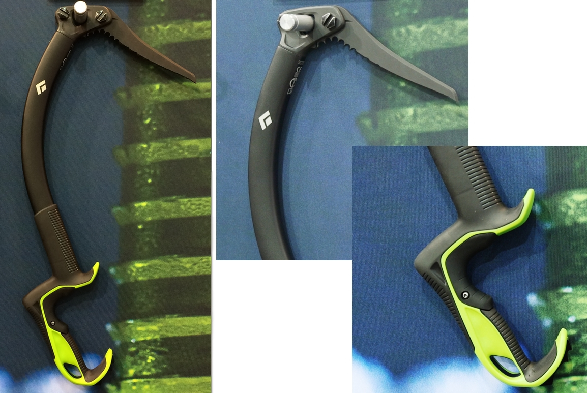 Black Diamond Reactor Ice Tool Detail