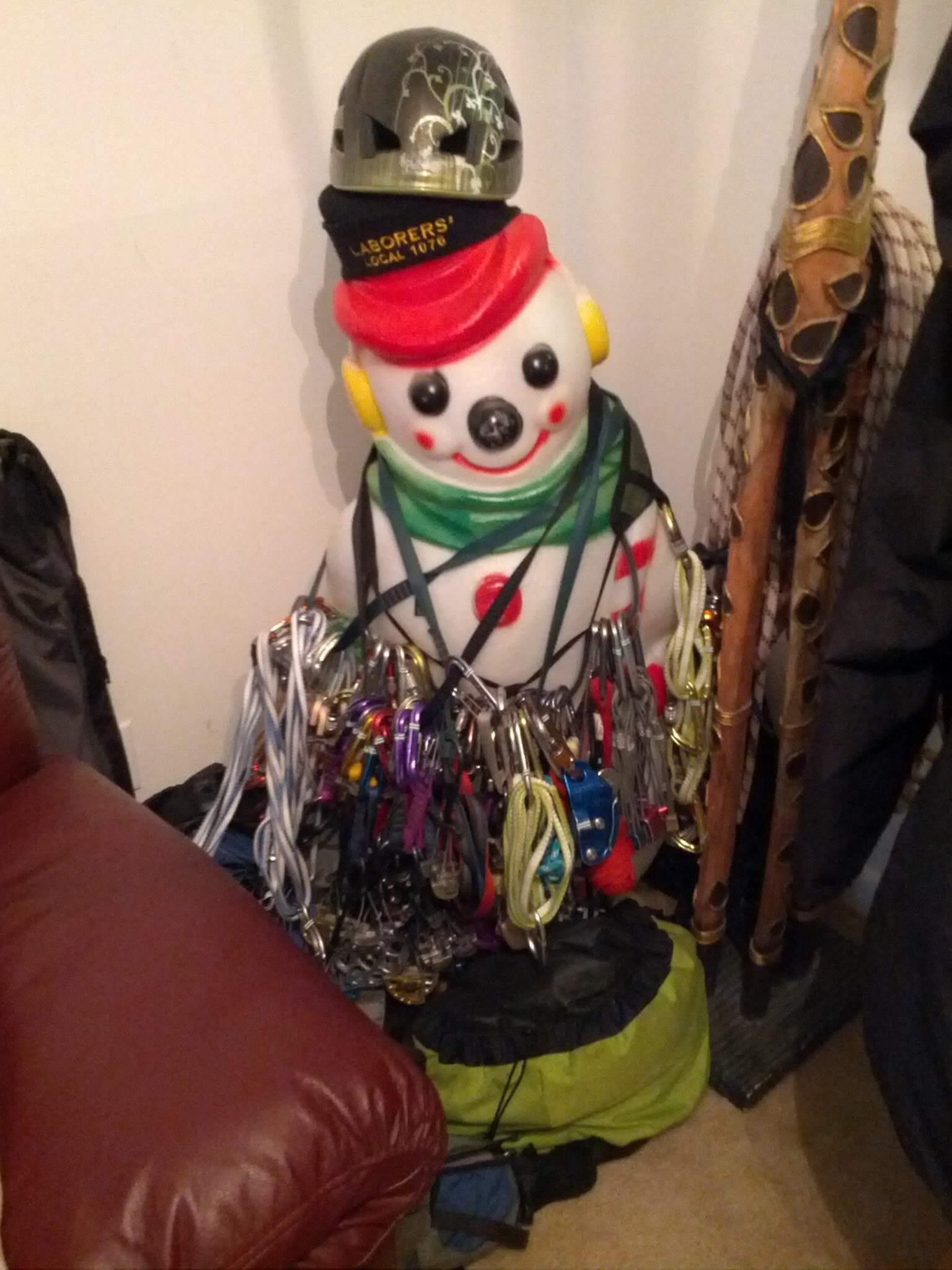snowman gear storage