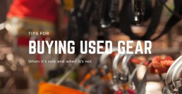 buying used climbing gear