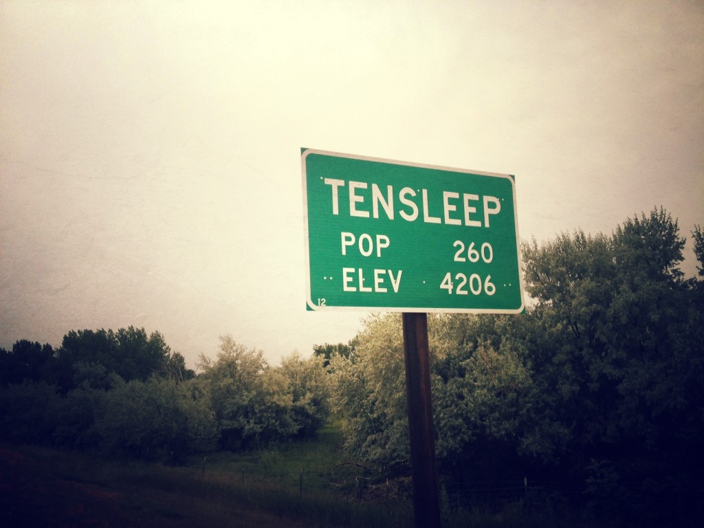 Ten Sleep Wyoming Population