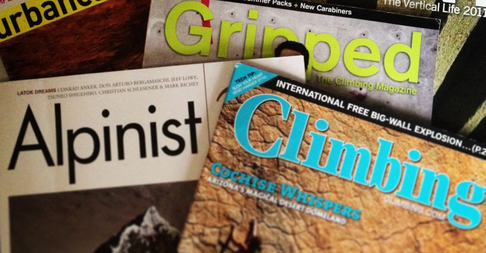 We List All The Rock Climbing Magazines AvailableWeighMyRack Blog