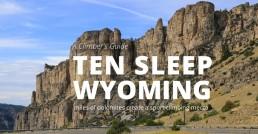 ten sleep wyoming climbers guide