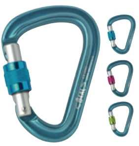 Beal Be Safe Locking Carabiner