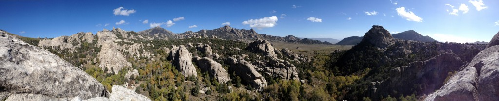 City Of Rocks Panorama Looks Like Lord of The Rings