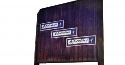 Metolius Building Sign