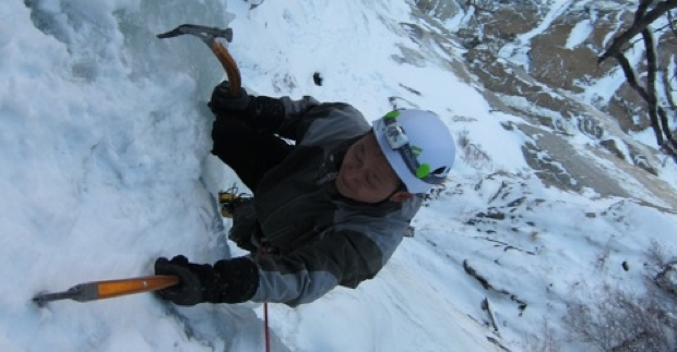 Black Diamond Manager Goes Ice Climbing