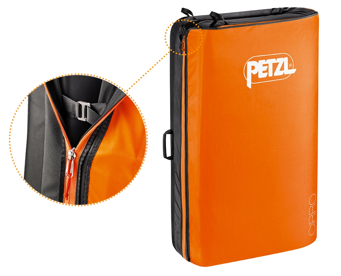 Petzl Cirro Zipper Closeup