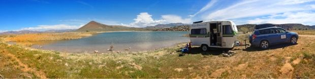 BLM Campsite near St. George Utah