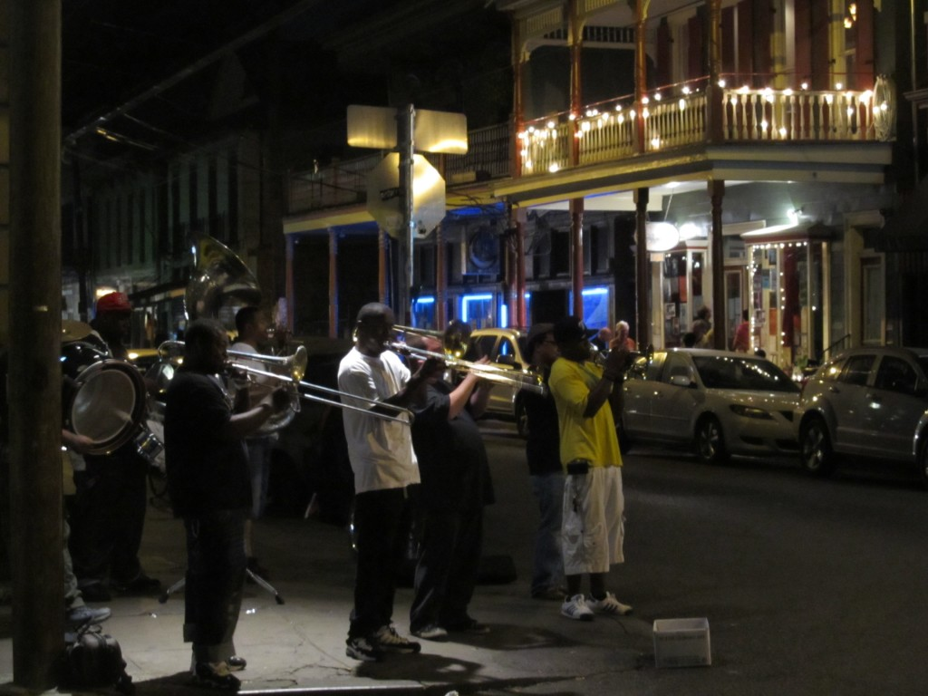 Frenchman Street Young Fellaz Brass Band