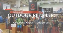 Ourdoor Retailer Show Floor