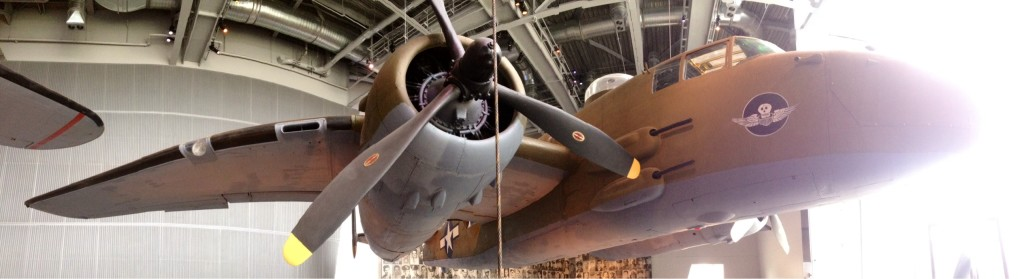 Planes on Display at the World War II Museum