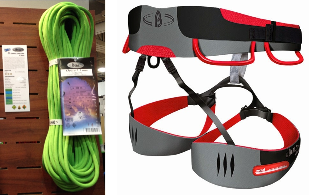 Beal Opera Rope and Mirage Harness