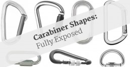 all the carabiner shapes explained and exposed