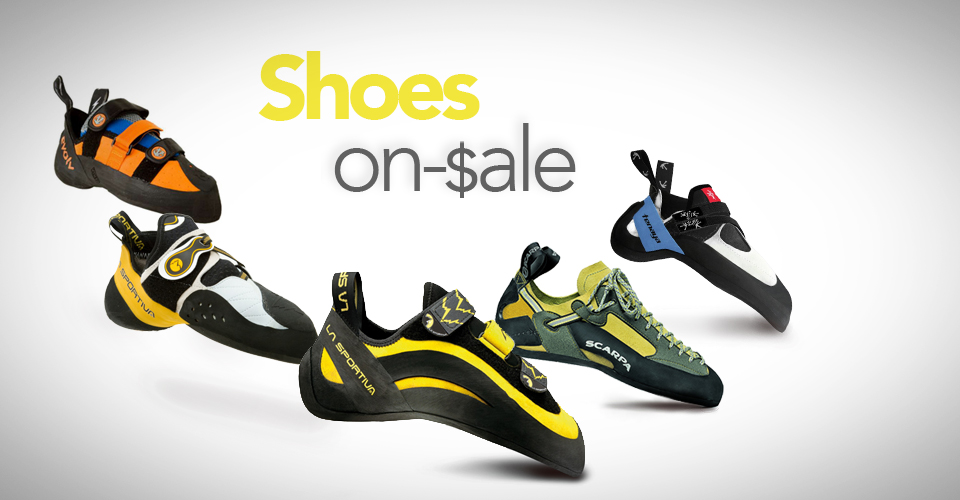 Best Deals on Climbing Shoes