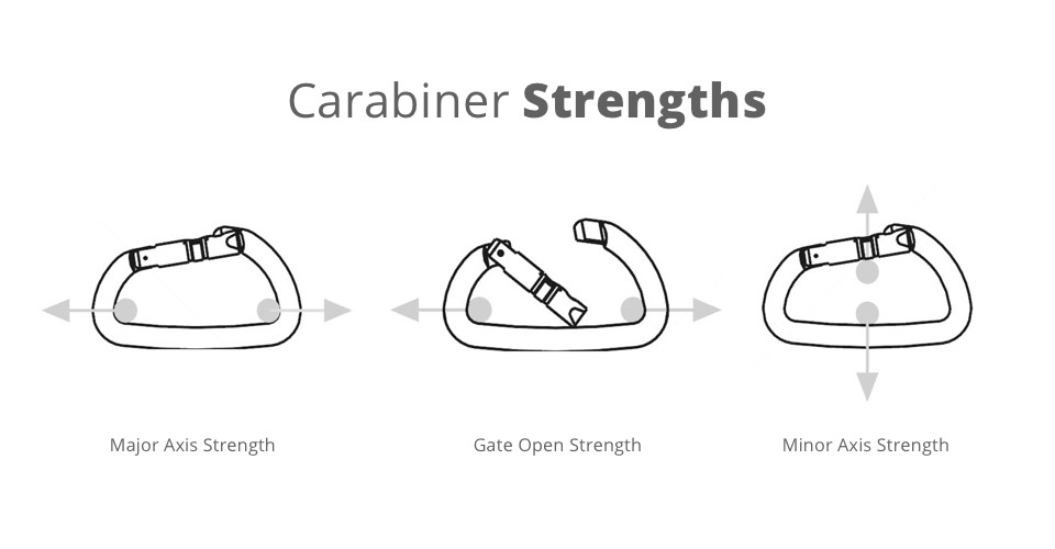 Carabiner Strengths Explained Exploredweighmyrack Blog