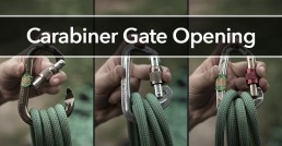 Carabiner Gate Opening