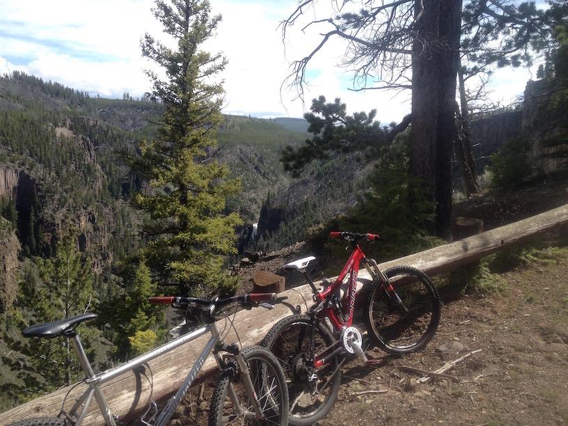 bikes and falls