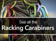 All the Rack Pack Carabiner Options
