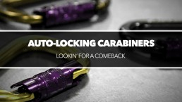 Auto-locking carabiners
