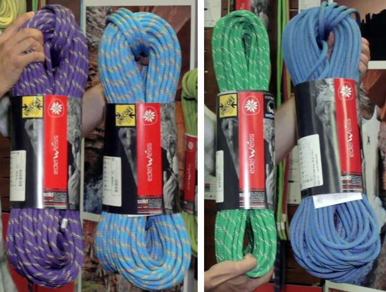 Edelweiss-2016 climbing ropes