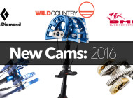2016 Cams by Black Diamond, DMM, Wild Country