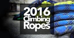 2016 rock climbing ropes