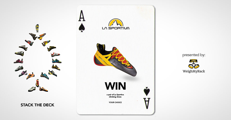 Win your choice of La Sportiva climbing shoes