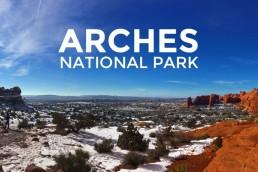 Arches National Park Header