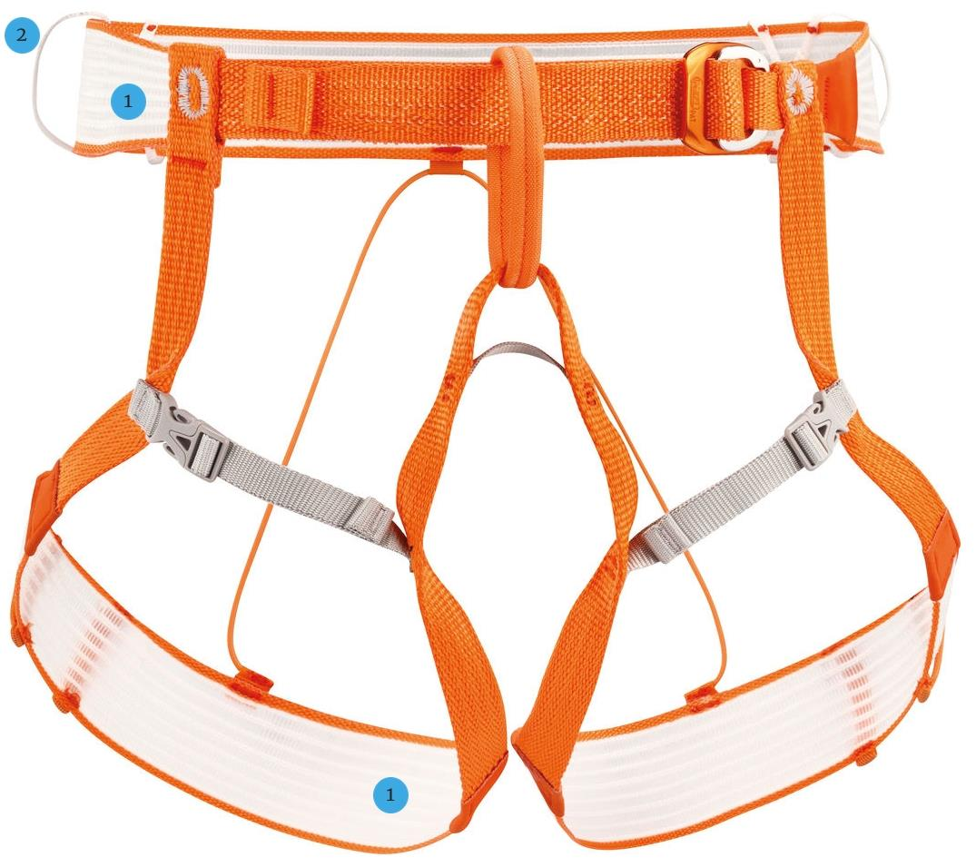 Petzl Altitude Harness full front view