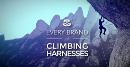Every brand of climbing harnesses